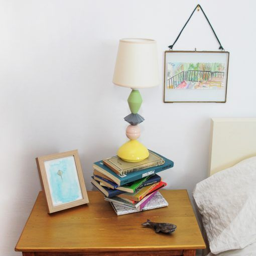 Equilibrista lamp small color with screen